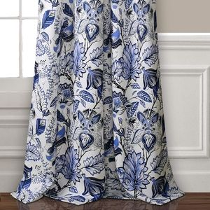 Lush Decor Jacobean Curtain Panel Set
